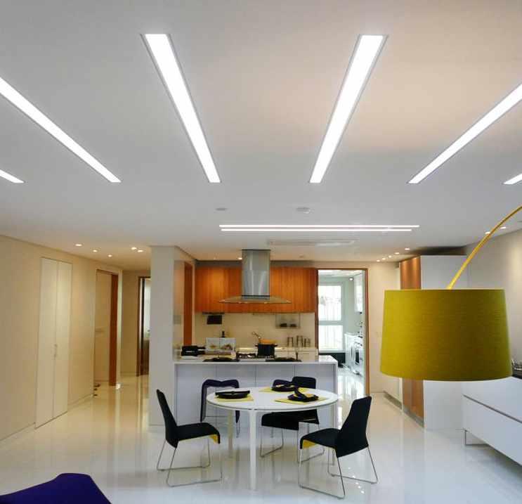 Illuminazione casa strisce led