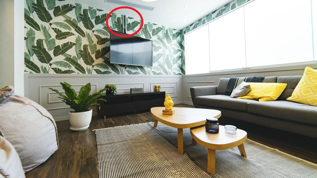 Canalina Per Fili Tv nascondere fili tv: rendere invisibili i cavi - la passione