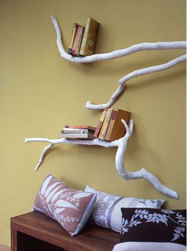 Come arredare casa con i rami