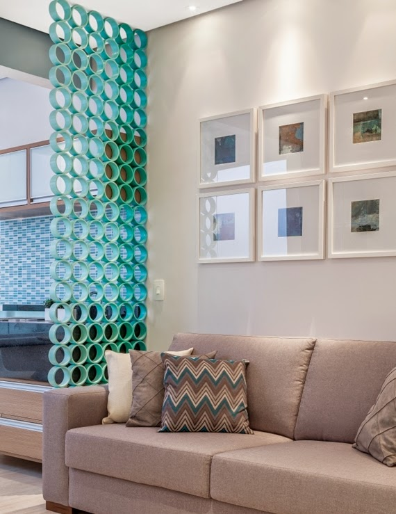 Come decorare casa con i tubi in pvc