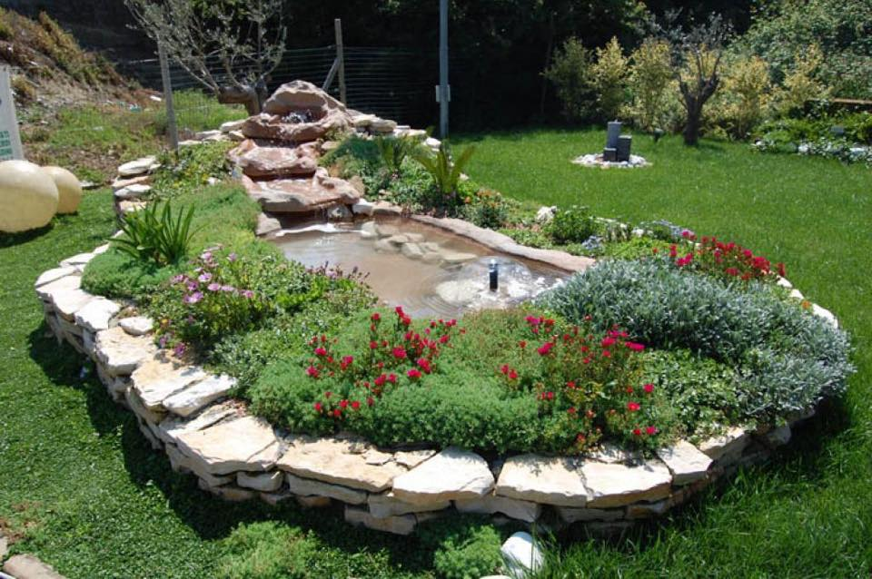 Come abbellire un giardino con un laghetto