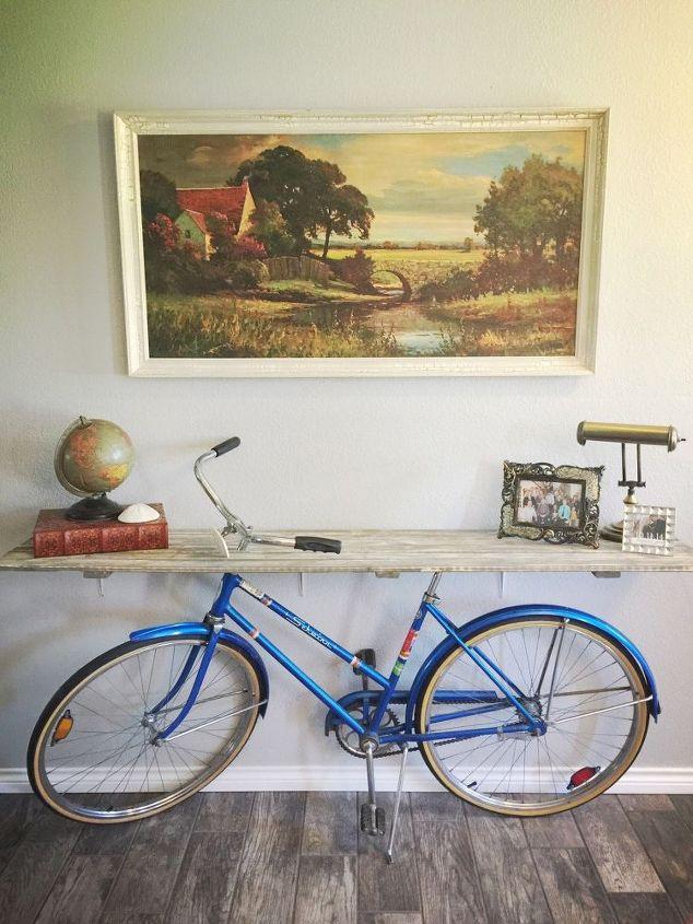 riciclare uCome arredare casa con pochi soldina bicicletta