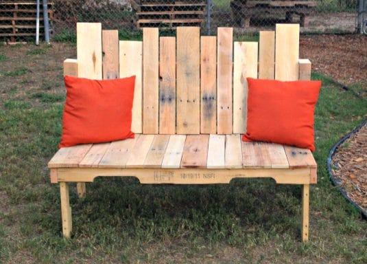Come creare una panchina da giardino fai da te