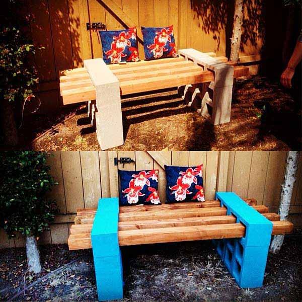 Come realizzare delle sedute da giardino fai da te