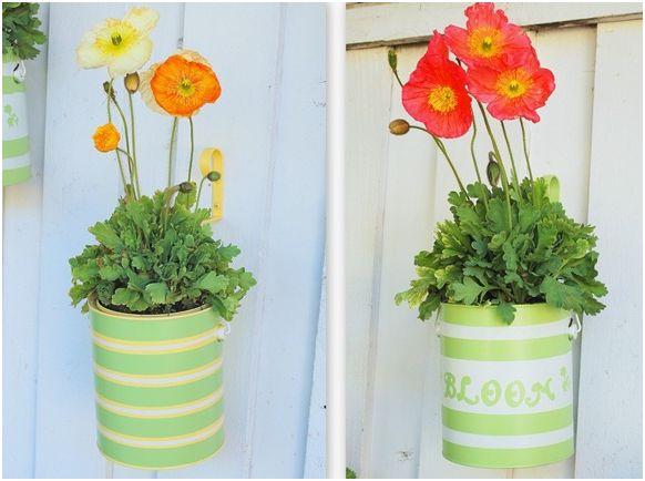 Come arredare casa con le fioriere fai da te