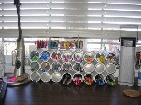 Organizzare Casa Con I Tubi In Pvc 7
