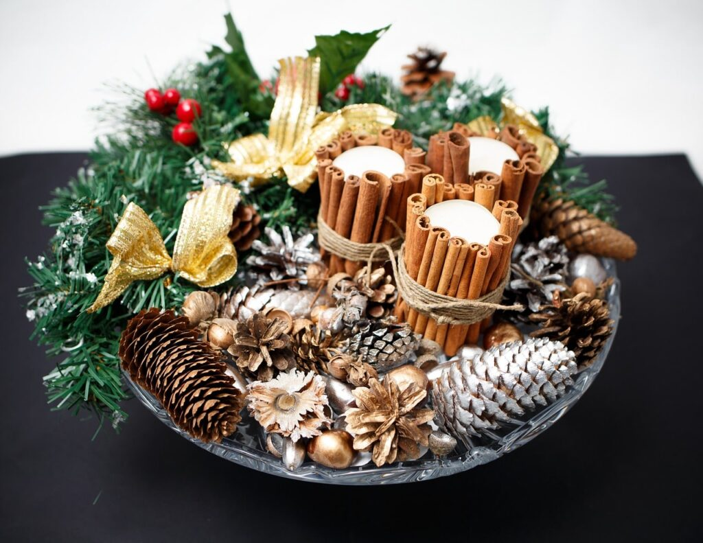 Addobbi fai da te per Natale: 20 idee