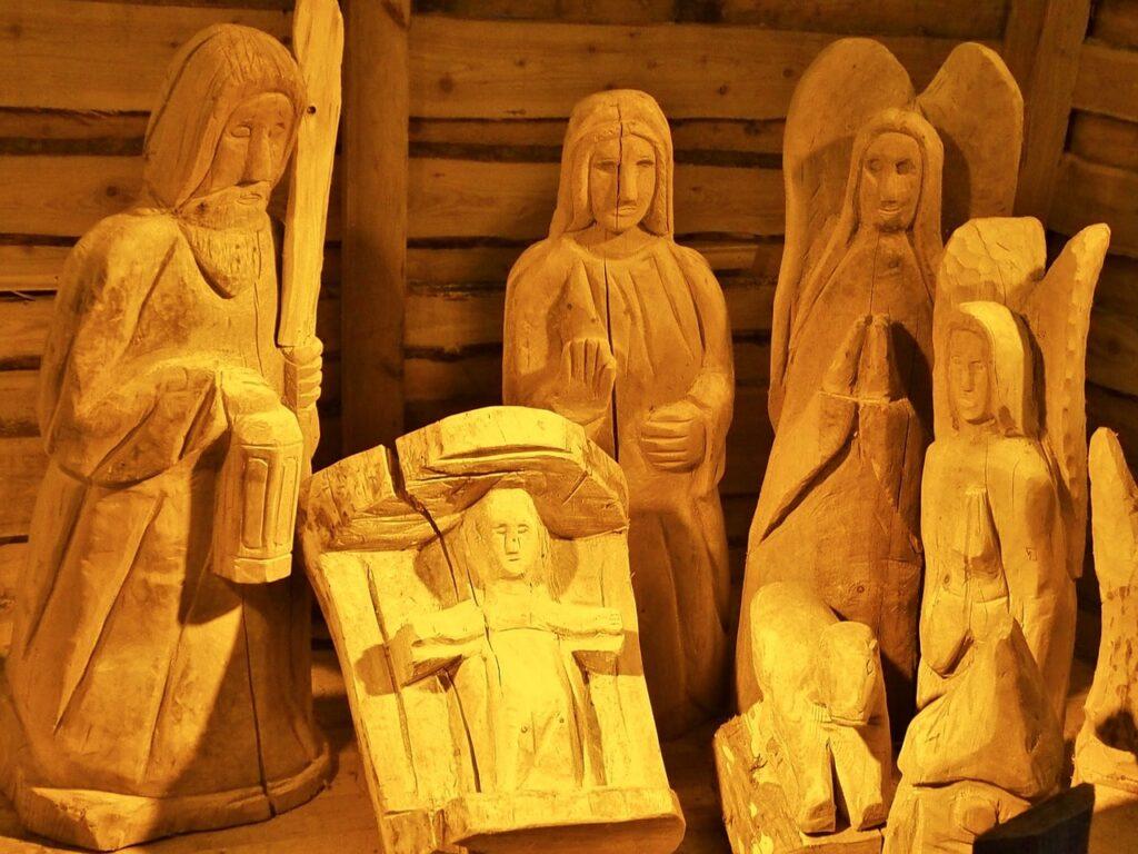 Presepe di Natale fai da te in legno