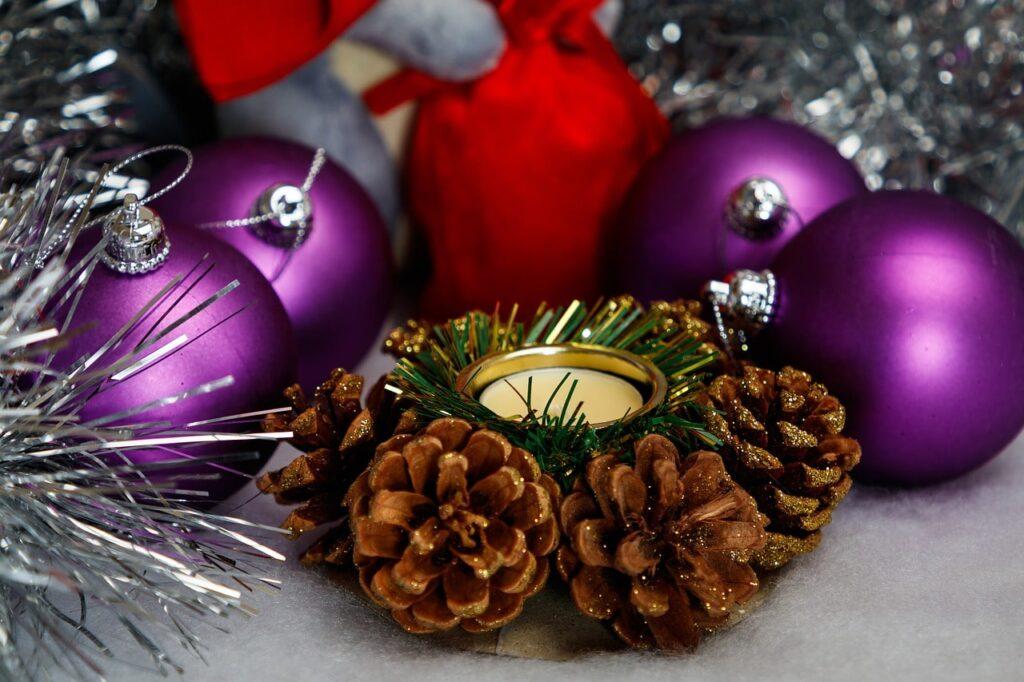 Portacandele natalizi fai da te 25 idee creative