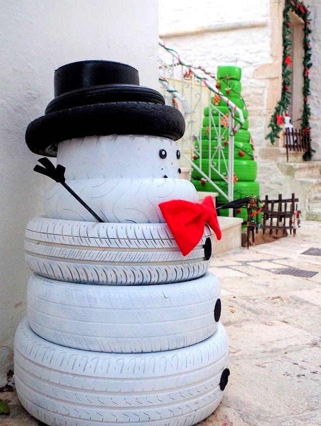 Pupazzo di neve fai da te idee
