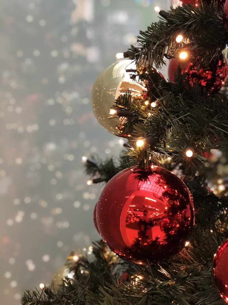 disfare l'albero di Natale
