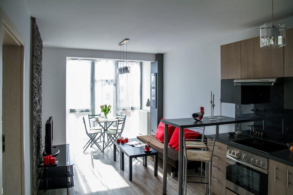 Appartamenti piccoli ma molto funzionali
