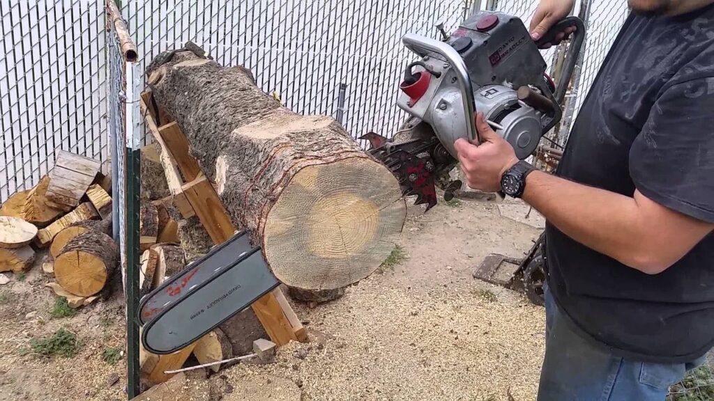 Come realizzare un Vialetto in giardino con i ceppi di legno