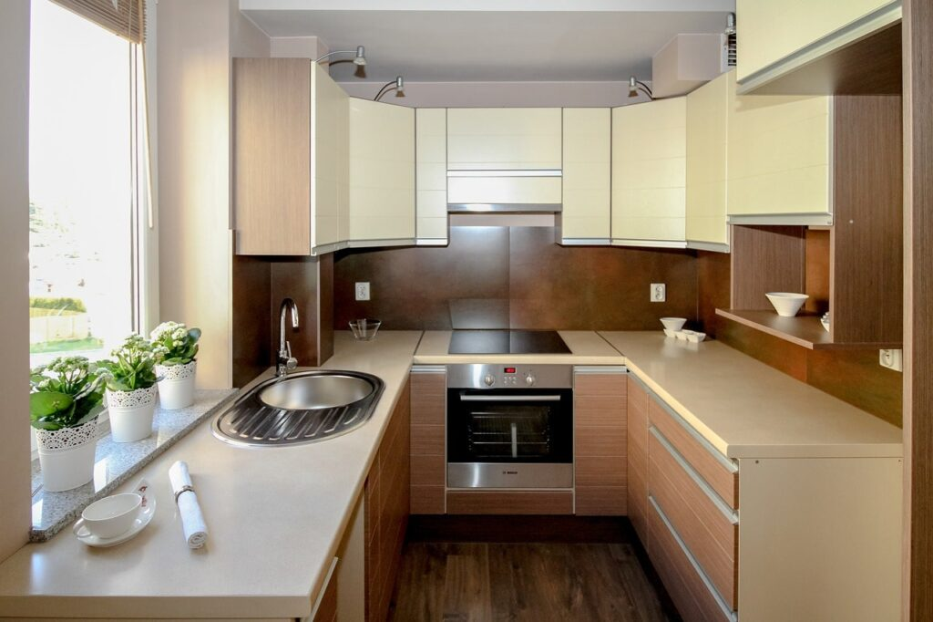 Piccole cucine moderne