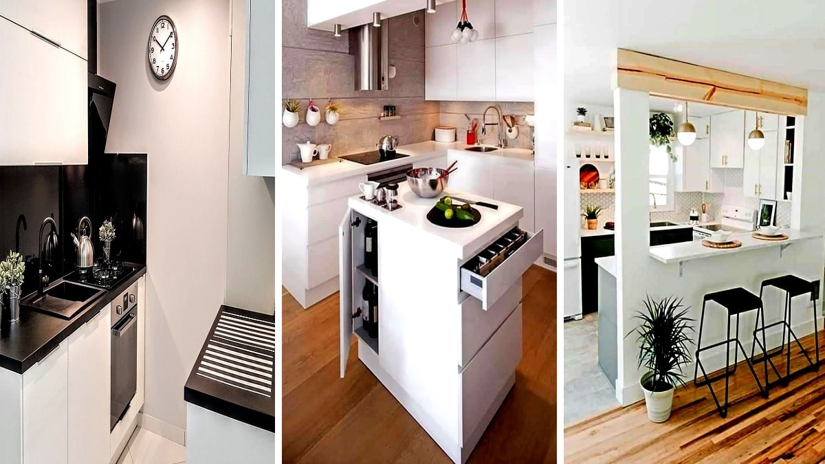 Piccole Cucine Moderne 20 Idee Di Design La Passione Di Arredare