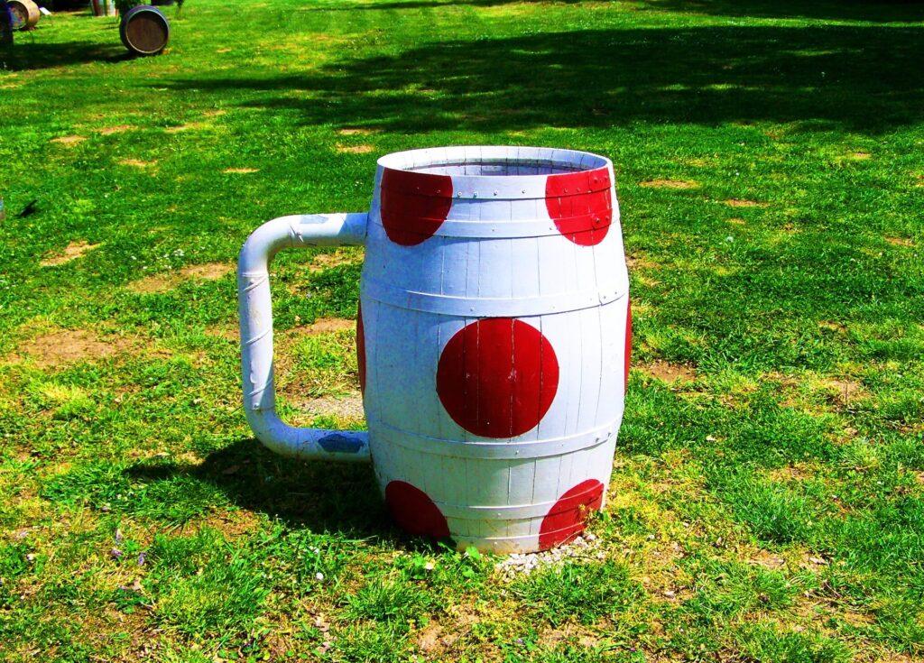 Idee originali di riciclo creativo della botte di vino