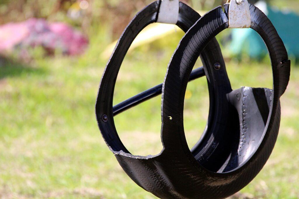 idee per riciclare i vecchi pneumatici