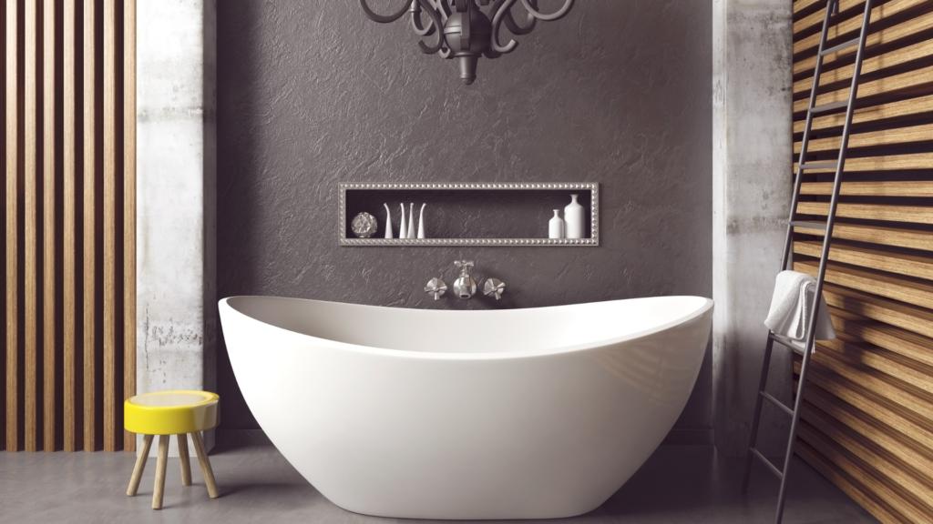 Come arredare un bagno lungo