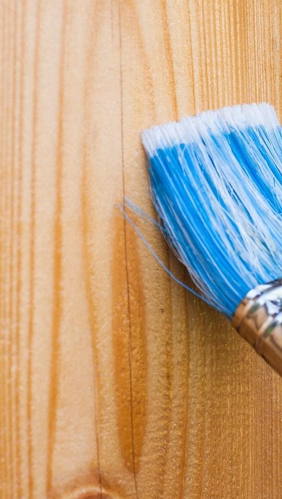 Non utilizzare la vernice protettiva