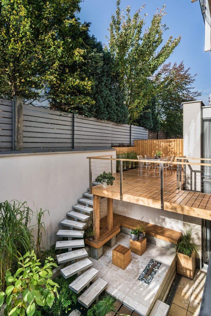 idee di giardini moderni ed eleganti