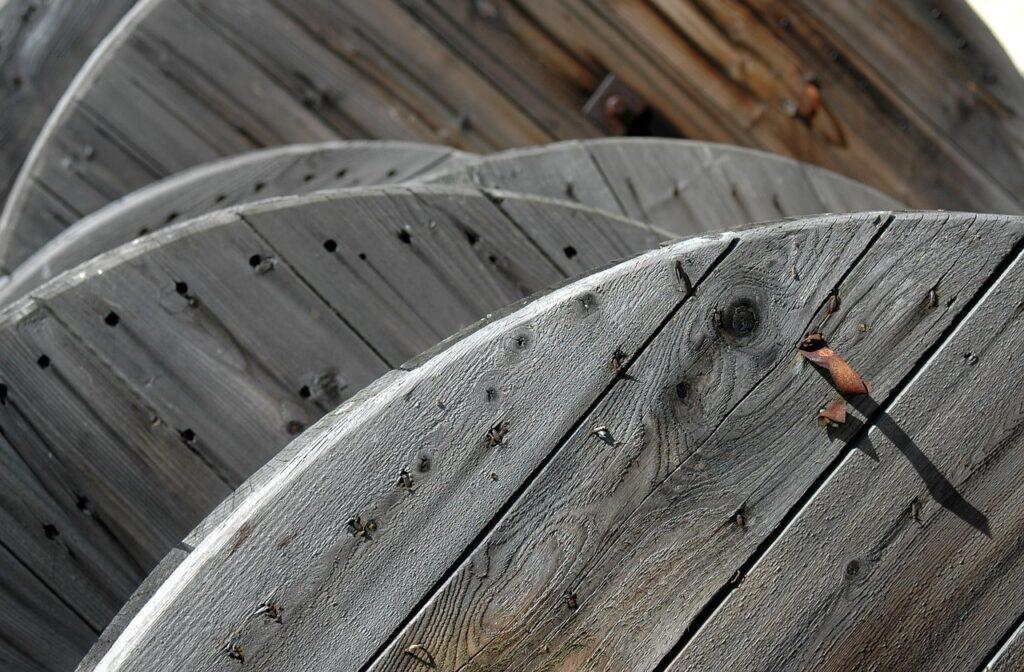 Bobine di legno