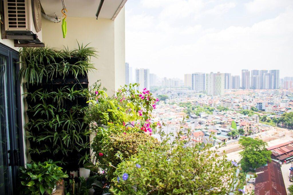 Come decorare un balcone