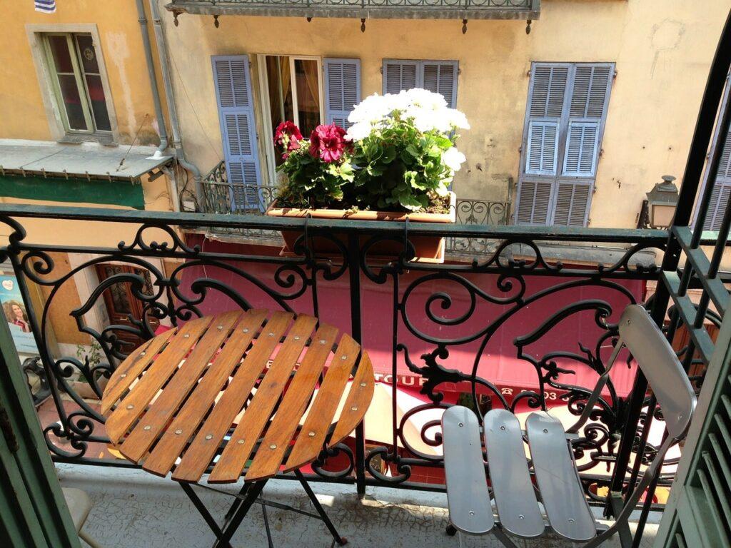 Come abbellire un balcone