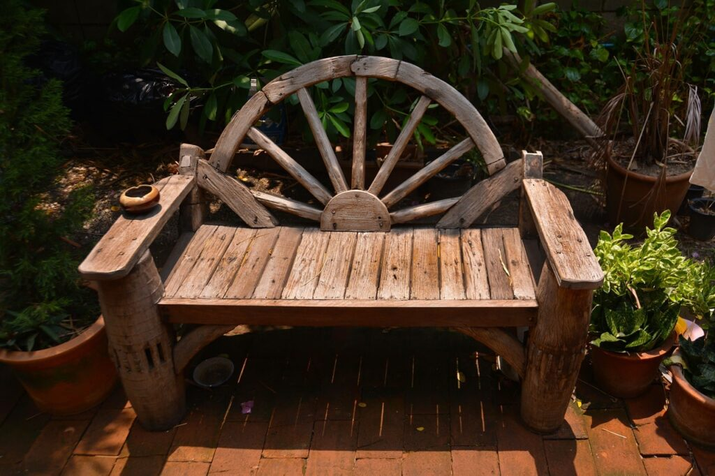 Come creare una panchina da giardino