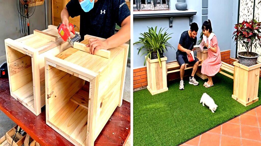 Come realizzare una panchina da giardino fai da te