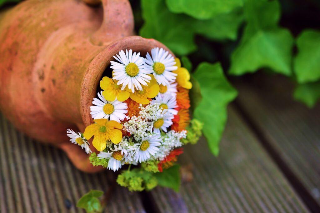Decorazioni da giardino vintage